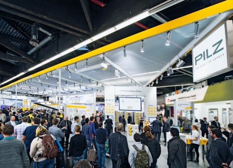 "Pilz auf der Hannover Messe 2020 (Halle 9, Stand D17) - ""Industrial Transformation"" safe & secure!"